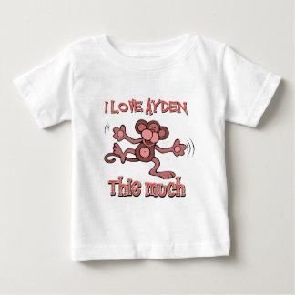 I love AYDEN this much Baby T-Shirt