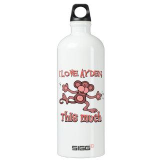 I love AYDEN this much SIGG Traveller 1.0L Water Bottle