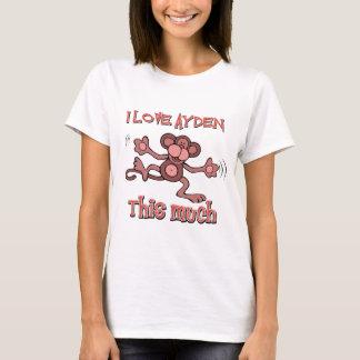 I love AYDEN this much T-Shirt