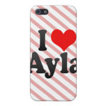 I love Ayla iPhone 5 Cover
