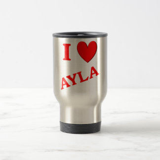 I Love Ayla Mug