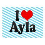 I love Ayla Postcard