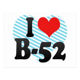 I Love B-52 Postcard