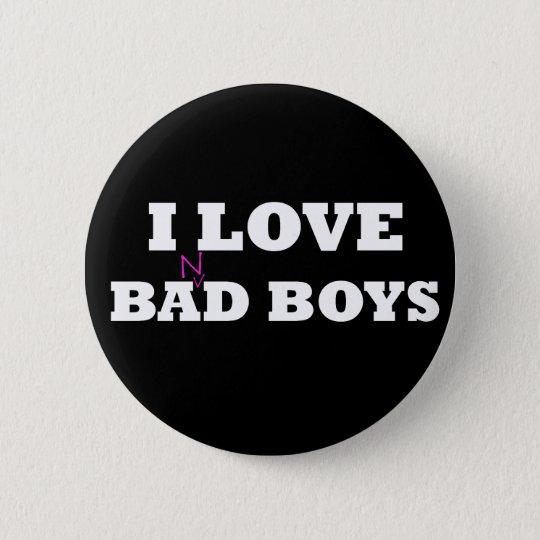 I Love Ba(n)d Boys 6 Cm Round Badge