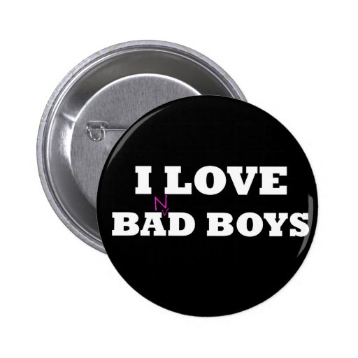 I Love Ba(n)d Boys Pinback Buttons