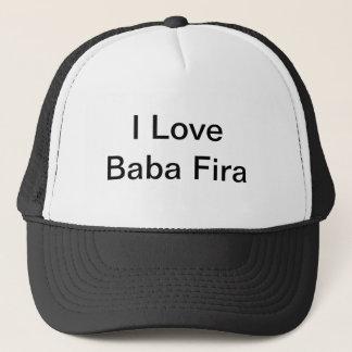 I Love Baba Fira Trucker Hat