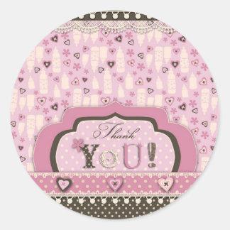I Love Babies TY Sticker