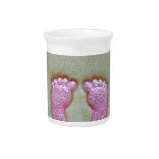 I love baby feet pitcher