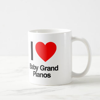 i love baby grand pianos coffee mug