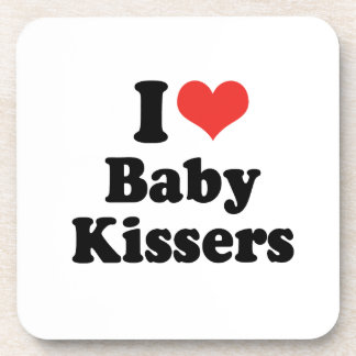 I LOVE BABY KISSERS - png Coasters