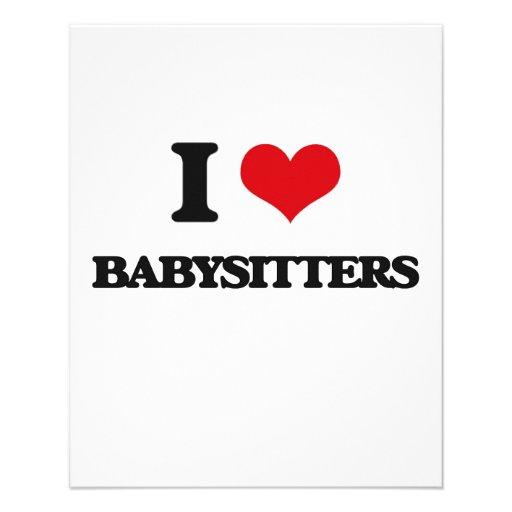 I love Babysitters Flyers