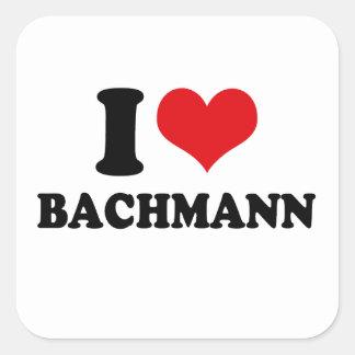 I LOVE BACHMANN STICKER