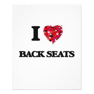 I Love Back Seats 11.5 Cm X 14 Cm Flyer