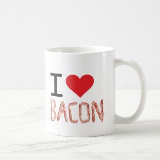 I Love Bacon Basic White Mug