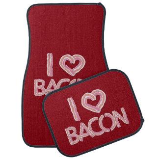 I Love Bacon Car Mat