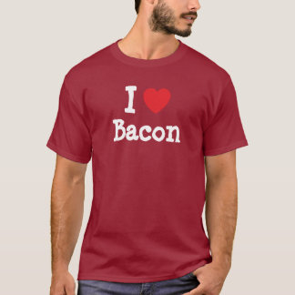 I love Bacon heart T-Shirt