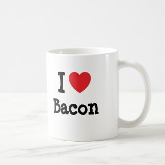 I love Bacon heart T-Shirt Coffee Mug