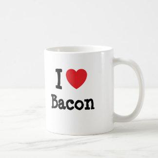 I love Bacon heart T-Shirt Mug