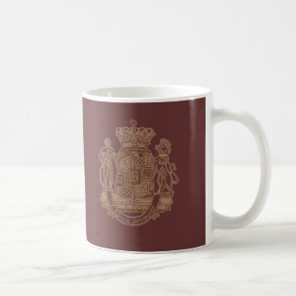 I Love Bacon Heraldic Crest Products Coffee Mug