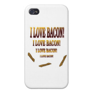 I love Bacon iPhone 4 Cases