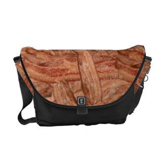 I Love Bacon Messenger Bags