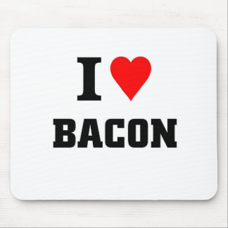 I love bacon mouse mat