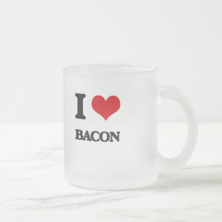 I Love Bacon Coffee Mug