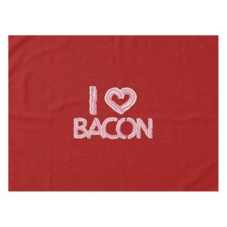 I Love Bacon Tablecloth