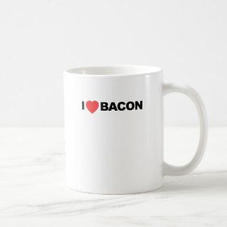 I Love Bacon Tee Shirt.png Mugs