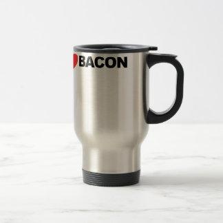 I Love Bacon Tee Shirt.png Coffee Mug
