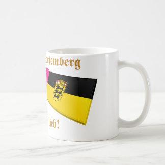 I Love Baden-Wuerttemberg ist mir lieb Basic White Mug