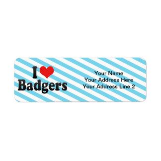 I Love Badgers