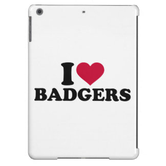 I love badgers cover for iPad air