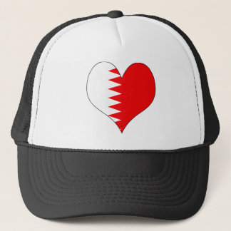I Love Bahrain Trucker Hat