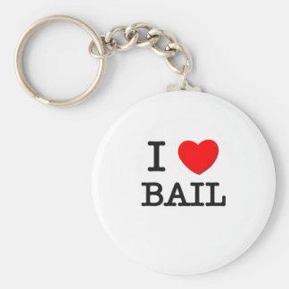 I Love Bail Key Chain
