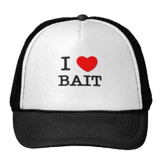 I Love Bait Mesh Hats