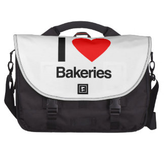 i love bakeries commuter bag