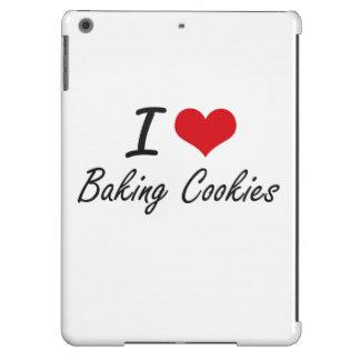 I love Baking Cookies iPad Air Cases
