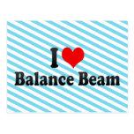 I love Balance Beam Postcards