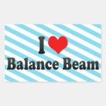 I love Balance Beam Stickers