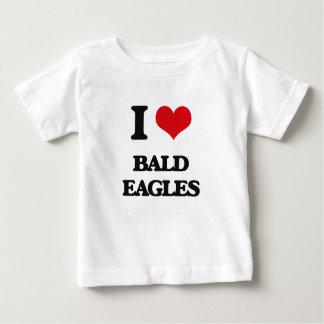 I Love Bald Eagles T-shirts