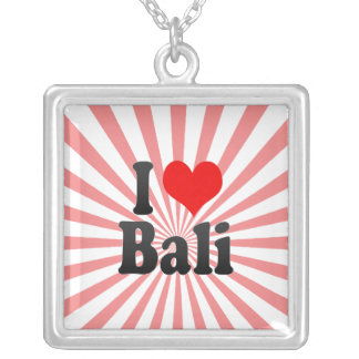 I Love Bali, India. Mera Pyar Bali, India Custom Jewelry