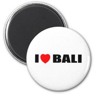 I Love Bali, Indonesia Magnet