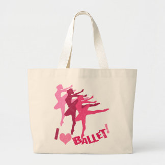 I love Ballet Canvas Bags