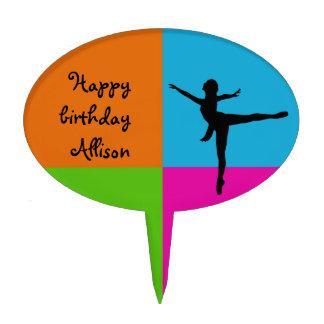 I love ballet - cake pick