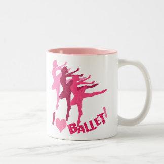 I love Ballet Two-Tone Mug