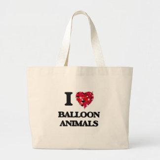 I love Balloon Animals Jumbo Tote Bag