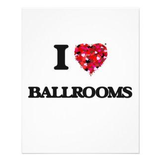 I Love Ballrooms 11.5 Cm X 14 Cm Flyer