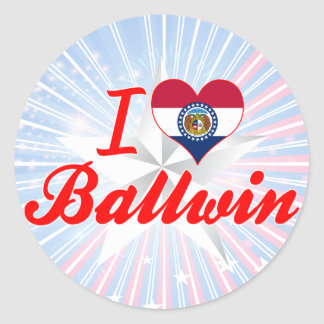 I Love Ballwin Missouri Sticker