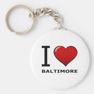 I LOVE BALTIMORE,MD - MARYLAND KEY RING